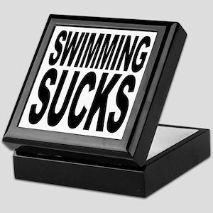 Swimming Sucks Keepsake Box