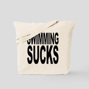 Swimming Sucks Tote Bag