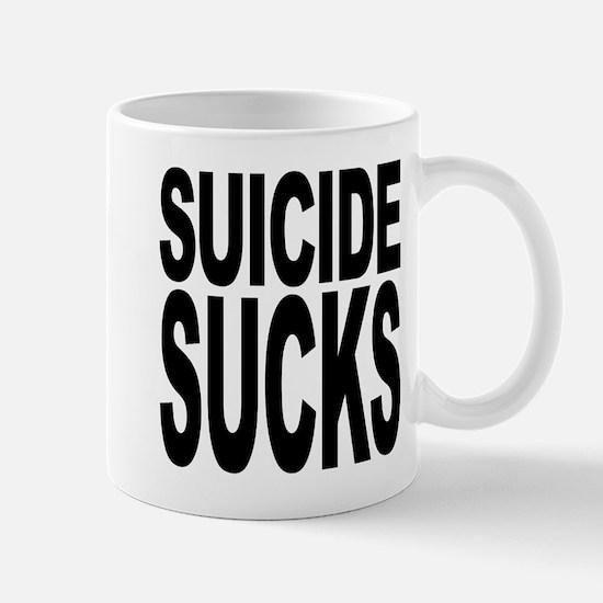 Suicide Sucks Mug