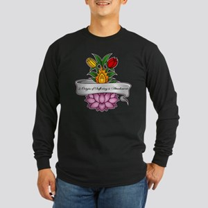 Buddha's 2nd Truth Long Sleeve Dark T-Shirt