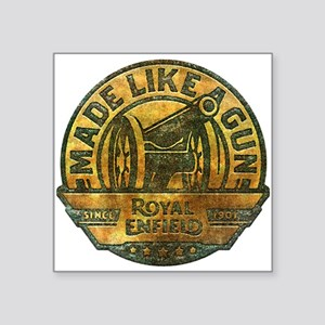 Faded Royal Enfield Retro Logo Sticker