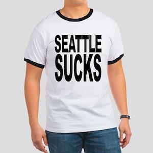 Seattle Sucks Ringer T