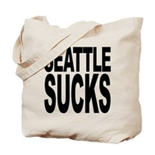 Seattle Sucks Tote Bag