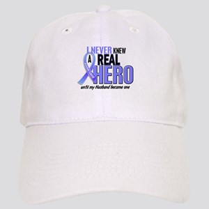 Never Knew A Hero 2 LT BLUE (Husband) Cap