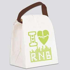 I LOVE RNB Canvas Lunch Bag