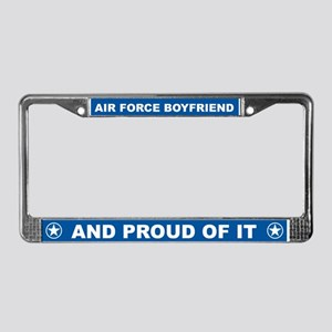 Air Force Boyfriend License Plate Frame