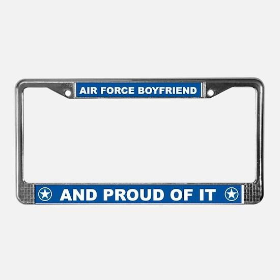 Air Force Boyfriend License Plate Frame