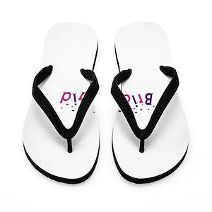 8d087e4caff4b Bridesmaid Flip Flops - CafePress