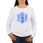 Star of David Commandments Women's Long Sleeve T-S