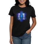 Star of David Commandments Women's Dark T-Shirt