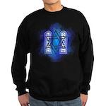 Star of David Commandments Sweatshirt (dark)