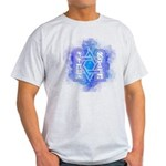 Star of David Commandments Light T-Shirt