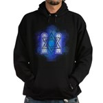 Star of David Commandments Hoodie (dark)