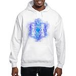Star of David Commandments Hooded Sweatshirt