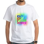 Three Peace White T-Shirt