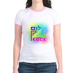 Three Peace Jr. Ringer T-Shirt