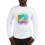 Three Peace Long Sleeve T-Shirt