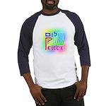 Three Peace Baseball Jersey