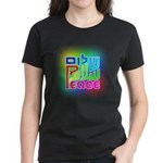 Three Peace Women's Dark T-Shirt
