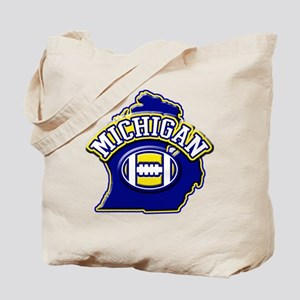 Michigan Football Tote Bag