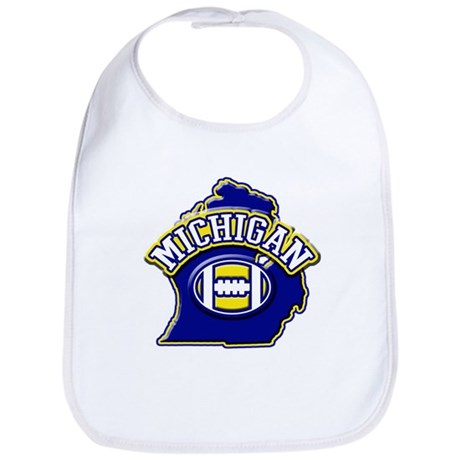 Michigan Football Bib