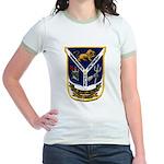 USS JESSE L. BROWN Jr. Ringer T-Shirt