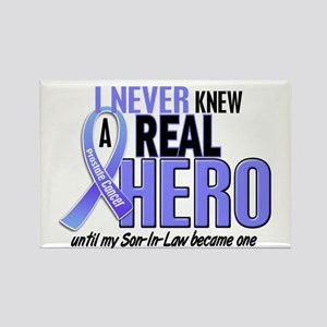 Never Knew A Hero 2 LT BLUE (Son-In-Law) Rectangle