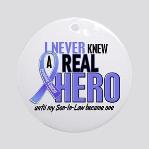 Never Knew A Hero 2 LT BLUE (Son-In-Law) Ornament
