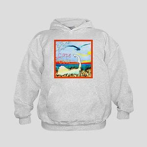 Cape Cod Gull Kids Hoodie
