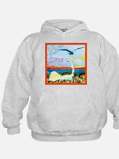 Cape Cod Gull Hoodie