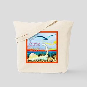 Cape Cod Gull Tote Bag
