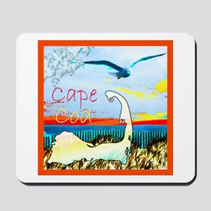 Cape Cod Gull Mousepad