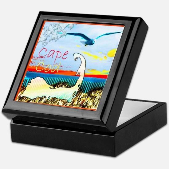 Cape Cod Gull Keepsake Box
