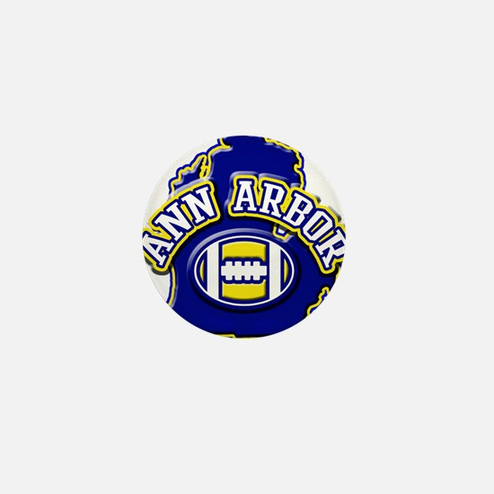 Ann Arbor Football Mini Button