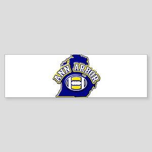 Ann Arbor Football Bumper Sticker
