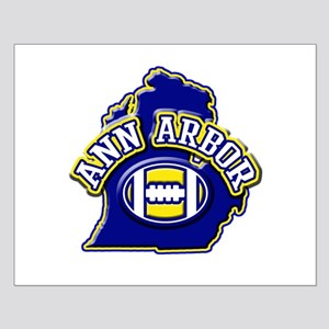 Ann Arbor Football Small Poster