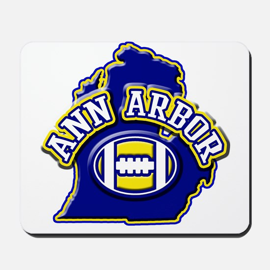 Ann Arbor Football Mousepad