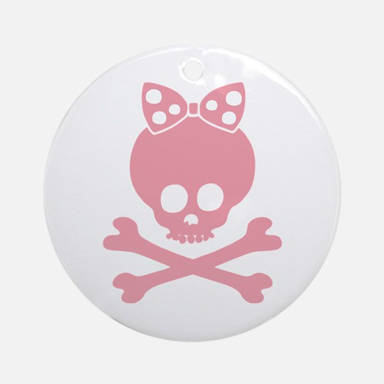 Molly Bow Dot -p Ornament (Round)