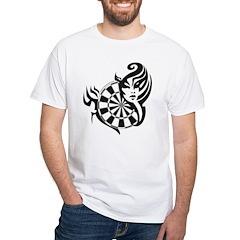 Devilish Darts White T-Shirt
