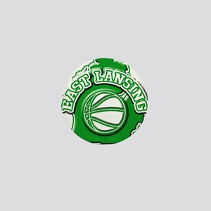 East Lansing Basketball Mini Button