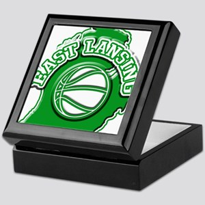 East Lansing Basketball Keepsake Box