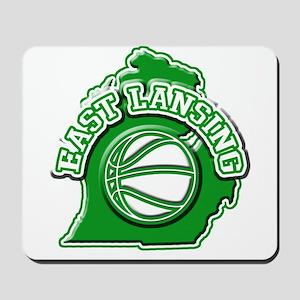 East Lansing Basketball Mousepad