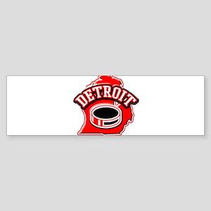 Detroit Football Bumper Sticker