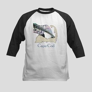 Cape Cod-Sagamore Bridge Kids Baseball Jersey
