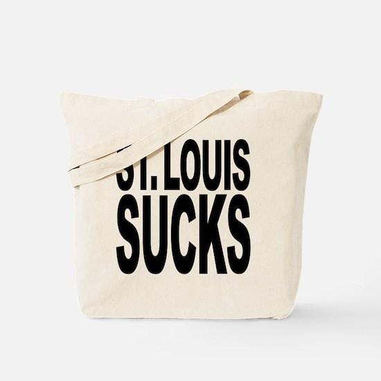 St. Louis Sucks Tote Bag