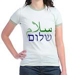 Shalom Salaam Jr. Ringer T-Shirt