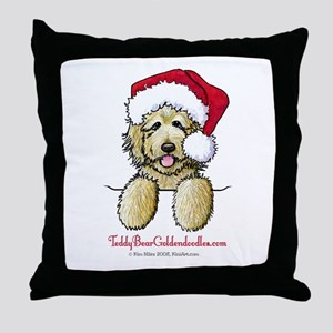 Pocket Santa Fletcher Throw Pillow