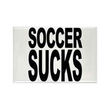 Soccer Sucks Rectangle Magnet