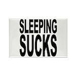 Sleeping Sucks Rectangle Magnet