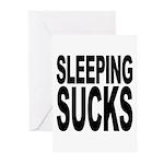 Sleeping Sucks Greeting Cards (Pk of 10)